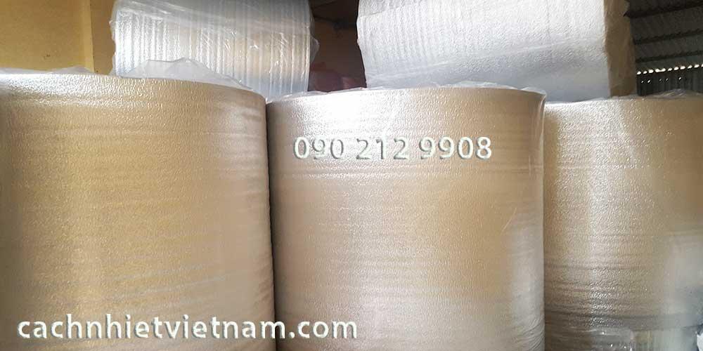Bảng giá mút xốp PE OPP 1 mặt bạc tại Hà Nội