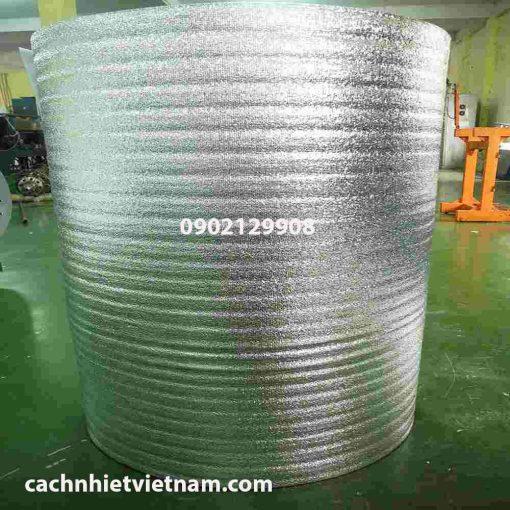 Cuộn xốp PE OPP 20mm tráng bạc